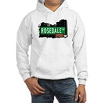 Rosedale Av, Bronx, NYC Hooded Sweatshirt