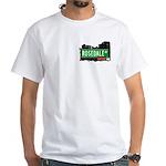 Rosedale Av, Bronx, NYC White T-Shirt