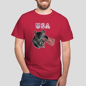 Chin USA Dark T-Shirt