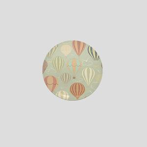 Vintage Hot Air Balloons Mini Button