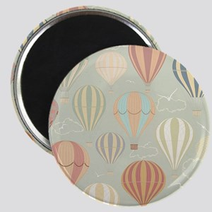 Vintage Hot Air Balloons Magnet