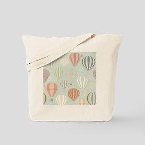 Vintage Hot Air Balloons Tote Bag