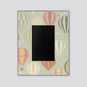 Vintage Hot Air Balloons Picture Frame