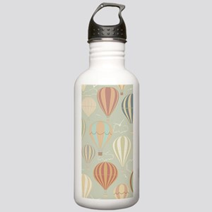 Vintage Hot Air Balloo Stainless Water Bottle 1.0L