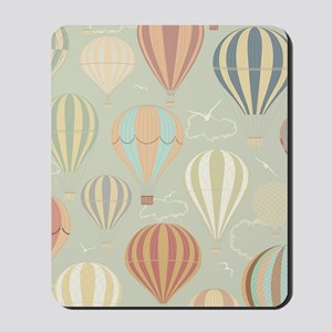 Vintage Hot Air Balloons Mousepad