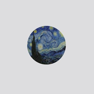 The Starry Night Mini Button
