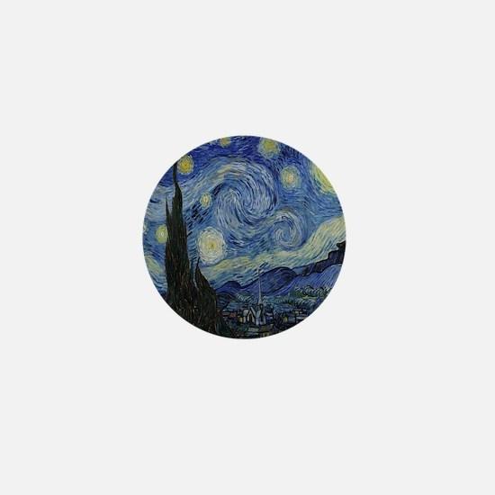 The Starry Night Mini Button