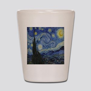 The Starry Night Shot Glass