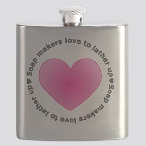 Soap Makers Love to Lather Up Flask