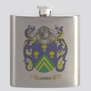 Josef Coat of Arms - Family Crest Flask