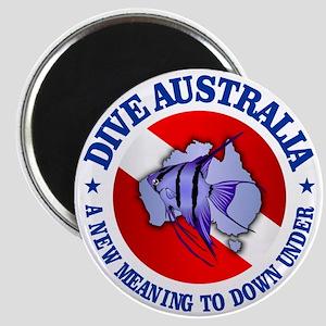 Dive Australia (rd) Magnet