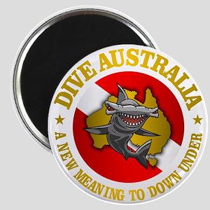 Dive Australia (hammerhead) Magnet
