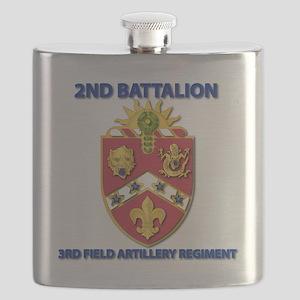 T-Shirt - Army - 2nd Bn - 3rd FA Regiment Flask