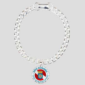 Dive Bonaire (rd) Charm Bracelet, One Charm
