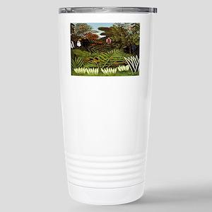 Exotic Landscape Stainless Steel Travel Mug