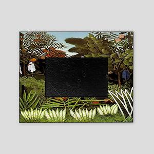 Exotic Landscape Picture Frame