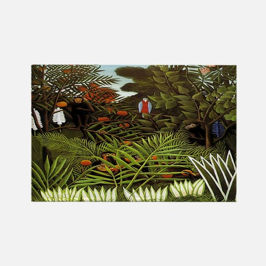 Exotic Landscape Rectangle Magnet