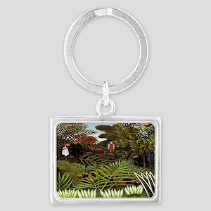 Exotic Landscape Landscape Keychain