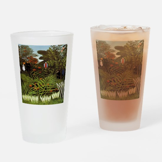 Exotic Landscape Drinking Glass
