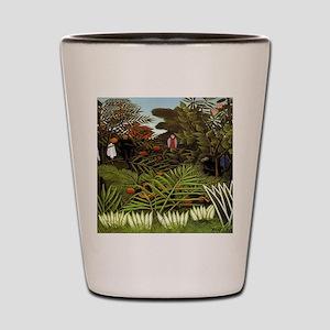 Exotic Landscape Shot Glass