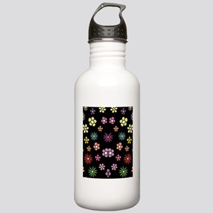 Pastel Daisies in Flor Stainless Water Bottle 1.0L