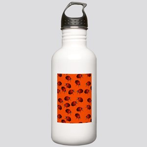 Many Ladybugs on Orang Stainless Water Bottle 1.0L
