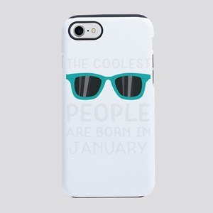 Coolest People in January iPhone 7 Tough Case
