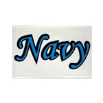 Navy Rectangle Magnet (100 pack)