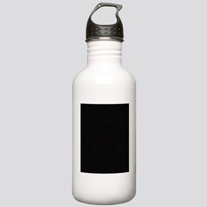 Black Snakeskin Stainless Water Bottle 1.0L