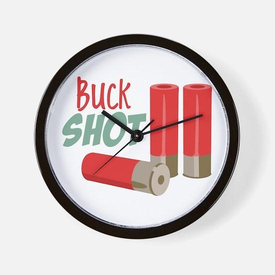 Buck Shot Wall Clock