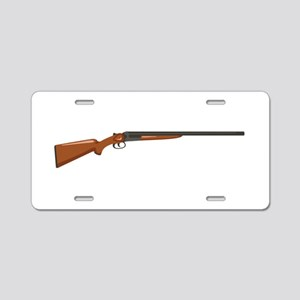Shotgun Aluminum License Plate