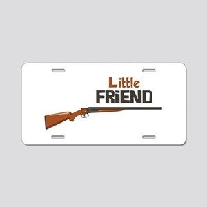 Little Friend Aluminum License Plate