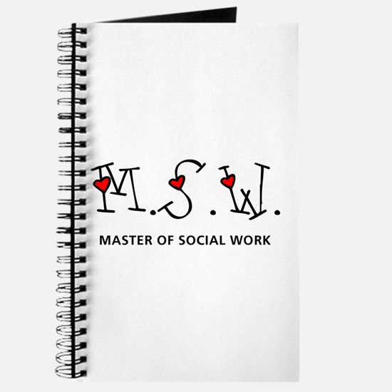 MSW Hearts (Design 2) Journal