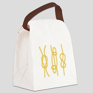 Nautical Knots Canvas Lunch Bag