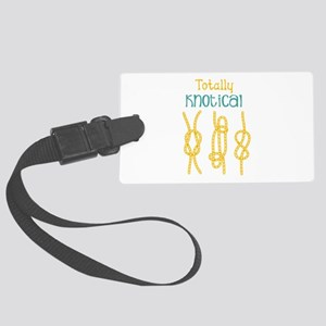 Totally Knotical Luggage Tag