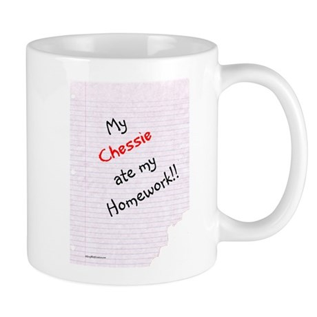 Chessie Homework Mug