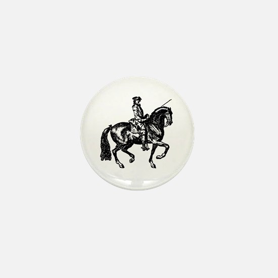 The Baroque Horse Mini Button