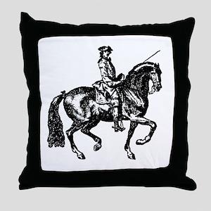 The Baroque Horse Throw Pillow