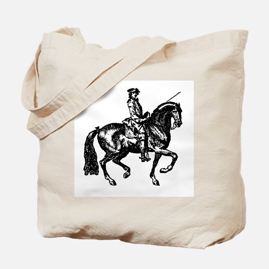 The Baroque Horse Tote Bag