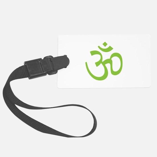 Yoga Ohm, Om Symbol, Namaste Luggage Tag