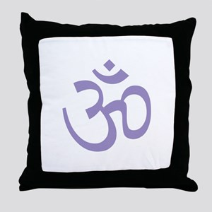 Yoga Ohm, Om Symbol, Namaste Throw Pillow