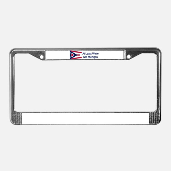 Ohio Humor #3 License Plate Frame