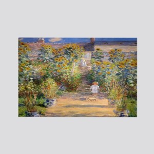 Artists Garden Rectangle Magnet