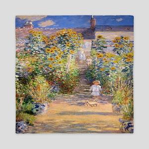 Artists Garden Queen Duvet