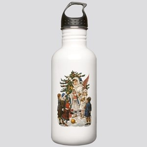 Vintage Guardian Angel Stainless Water Bottle 1.0L