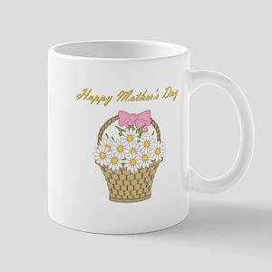 Happy Mother's Day (white daisies) Mug