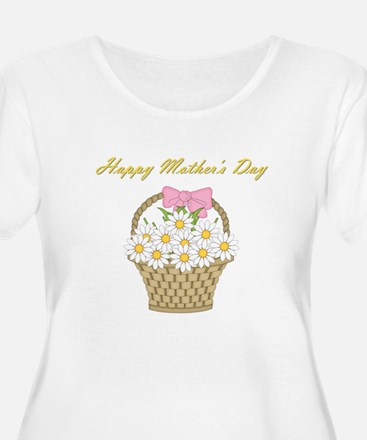 Happy Mother's Day (white daisies) T-Shirt