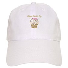Happy Mother's Day (white daisies) Cap