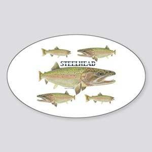 Steelhead Sticker (oval)
