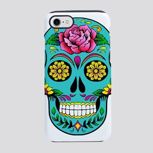 sugar skull iPhone 7 Tough Case